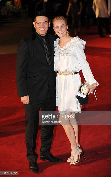 Nick Sacre and Camilla Dallerup arrive at the World Premiere of 'Nine' at Odeon Leicester Square on December 3 2009 in London England