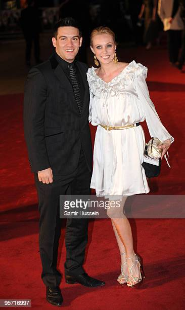 Nick Sacre and Camilla Dallerup arrive at the World Premiere of 'Nine' at Odeon Leicester Square on December 3, 2009 in London, England.