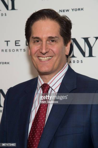 Nick Scandalios attends the 2018 Tony Honors For Excellence In The Theatre and 2018 Special Award Recipients Cocktail Party at the Sofitel Hotel on...