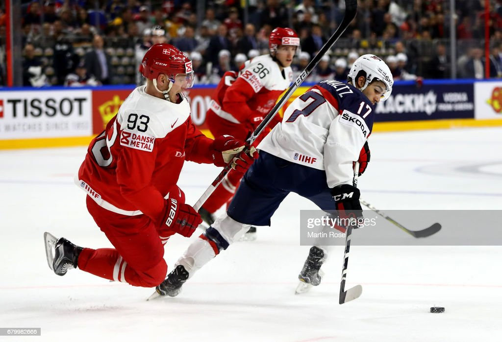 USA v Denmark - 2017 IIHF Ice Hockey World Championship