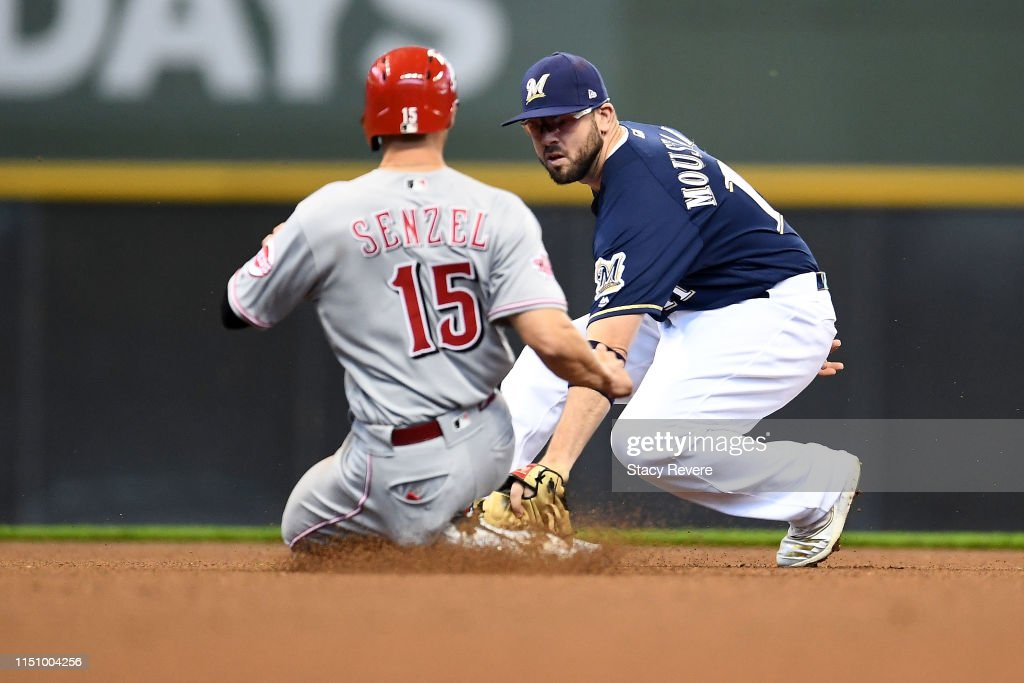 WI: Cincinnati Reds v Milwaukee Brewers