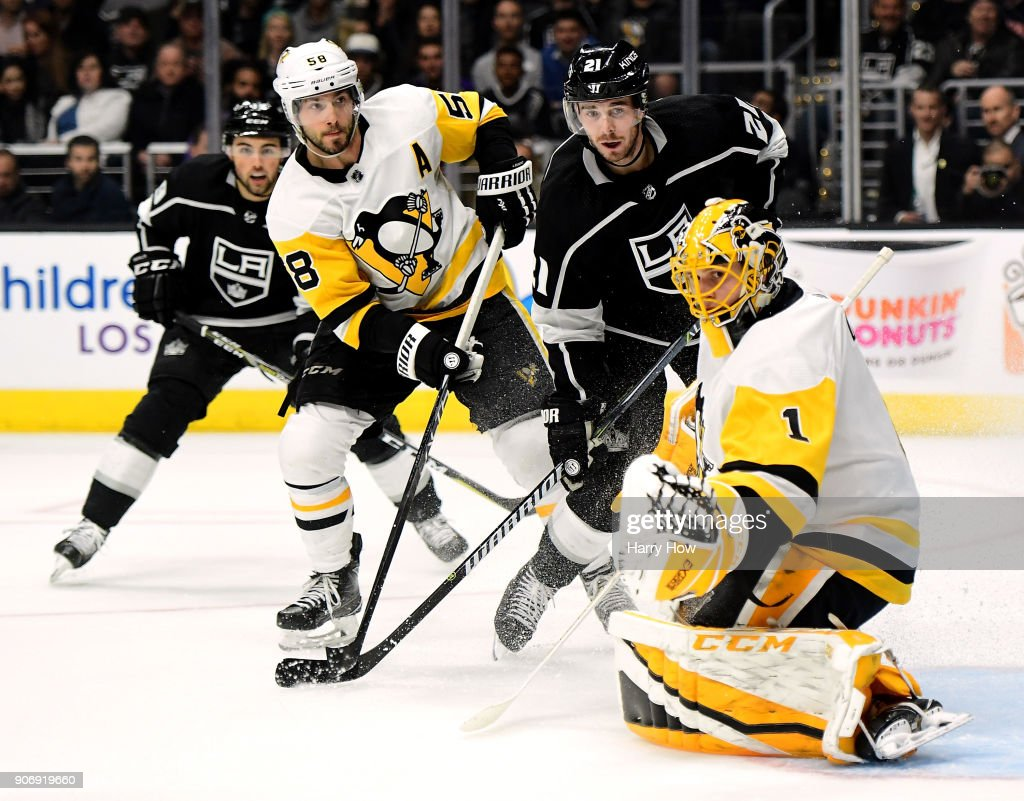 Pittsburgh Penguins v Los Angeles Kings : News Photo
