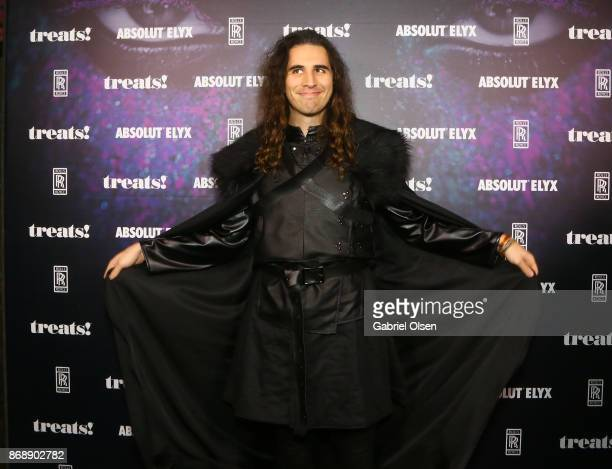 Nick Simmons at treats Magazine's 7th Halloween Party in Partnership with RollsRoyce Black Badge Absolut Elyx Perrier Jouet on October 31 2017 in Los...