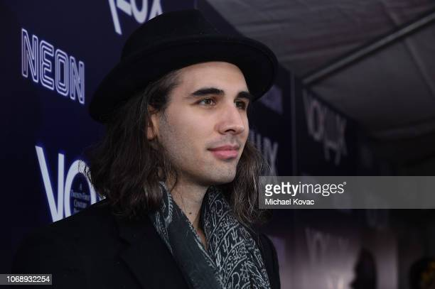 Nick Simmons attends the Los Angeles Premiere of Neon's 'Vox Lux' at ArcLight Hollywood on December 5 2018 in Los Angeles California