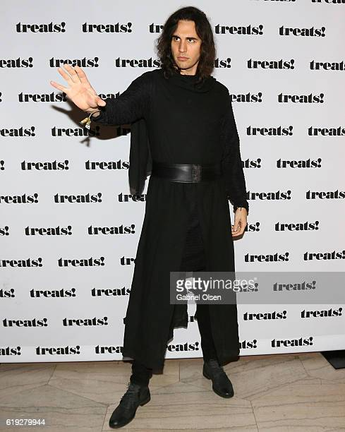 Nick Simmons attends Trick or treats The 6th Annual treats Magazine Halloween Party Sponsored by Absolut Elyx on October 29 2016 in Los Angeles...
