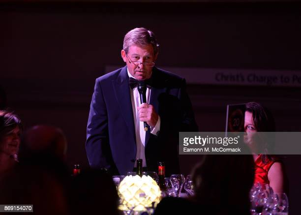 Nick Skelton attends the Team GB Ball at Victoria and Albert Museum on November 1 2017 in London England