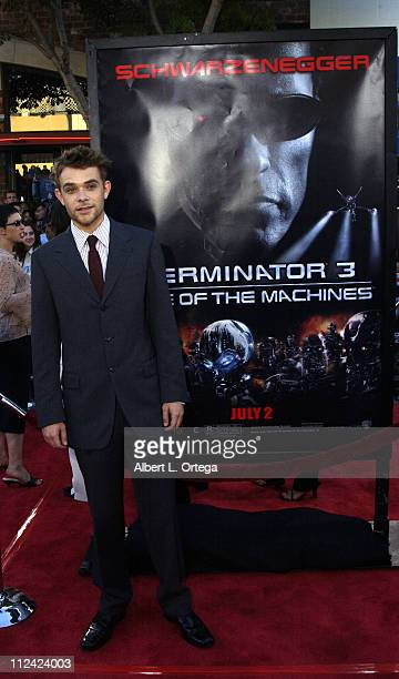 Nick Stahl during Terminator 3 Rise of the Machines Los Angeles Premiere at Mann Village Theatre in Westwood California United States