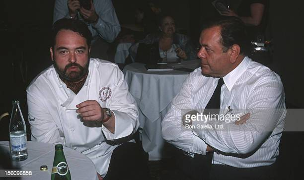 Nick Stellino and Paul Sorvino during 10th Anniversary James Beard Awards Gala 'A Celebration of Italy' at Marriott Marquis Hotel in New York City...