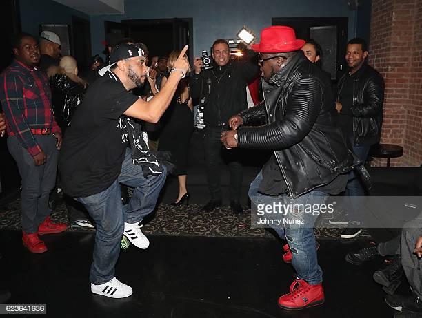 Nick Storm and Kofi Black attend DJ Suss One Birthday Celebration at The Loft on November 15 2016 in New York City