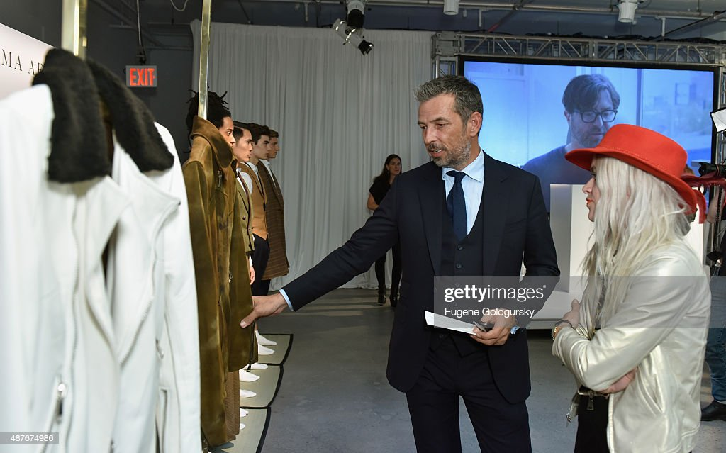 Nick Sullivan and Savannah Yarborough attend as AXE and Esquire present the AXE White Label Collective during the opening night of New York Fashion Week on September 10, 2015 at Pop14 in New York City.