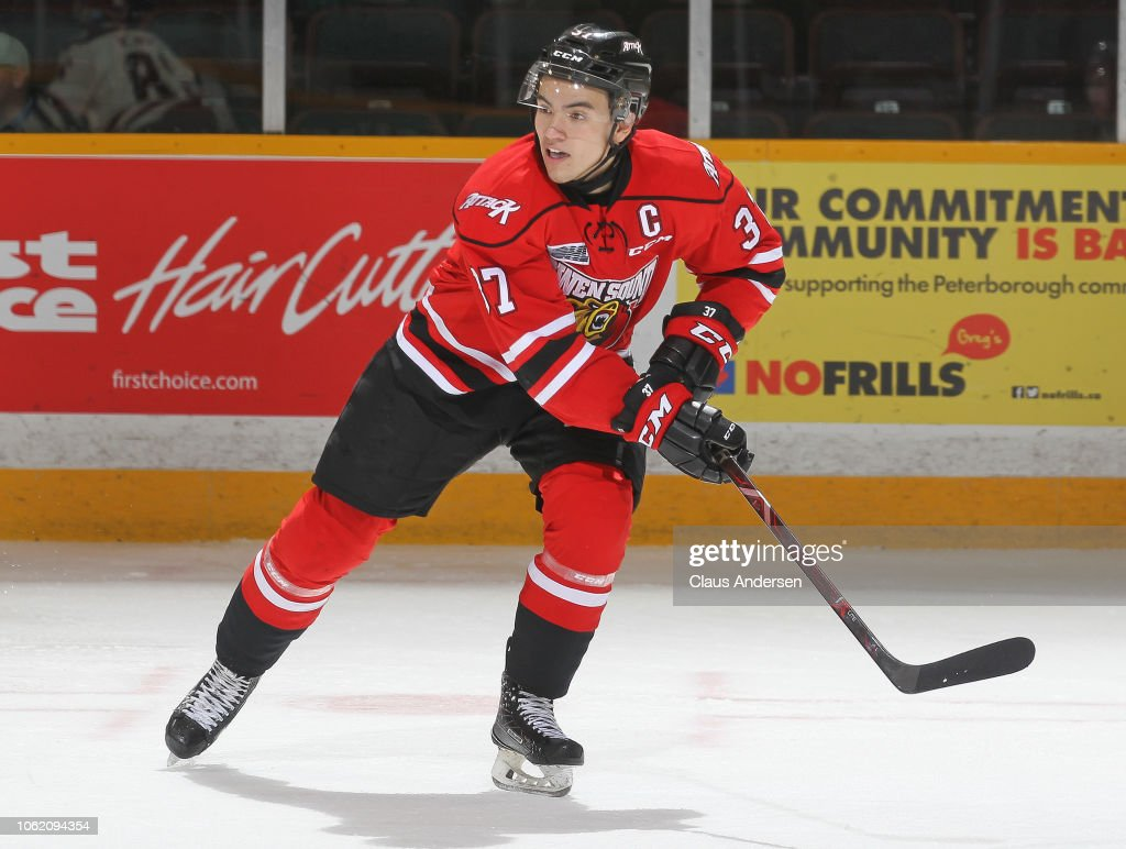 Owen Sound Attack v Peterborough Peters : News Photo