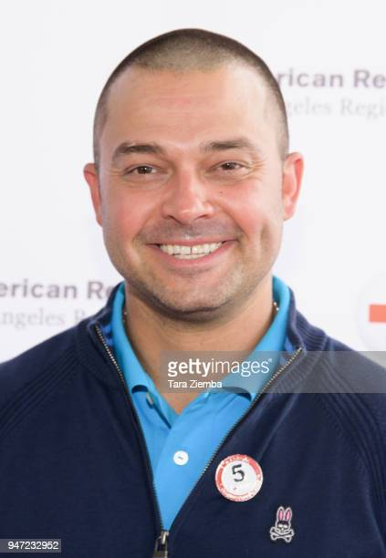 Nick Swisher attends the Red Cross' 5th Annual Celebrity Golf Tournament at Lakeside Golf Club on April 16, 2018 in Burbank, California.