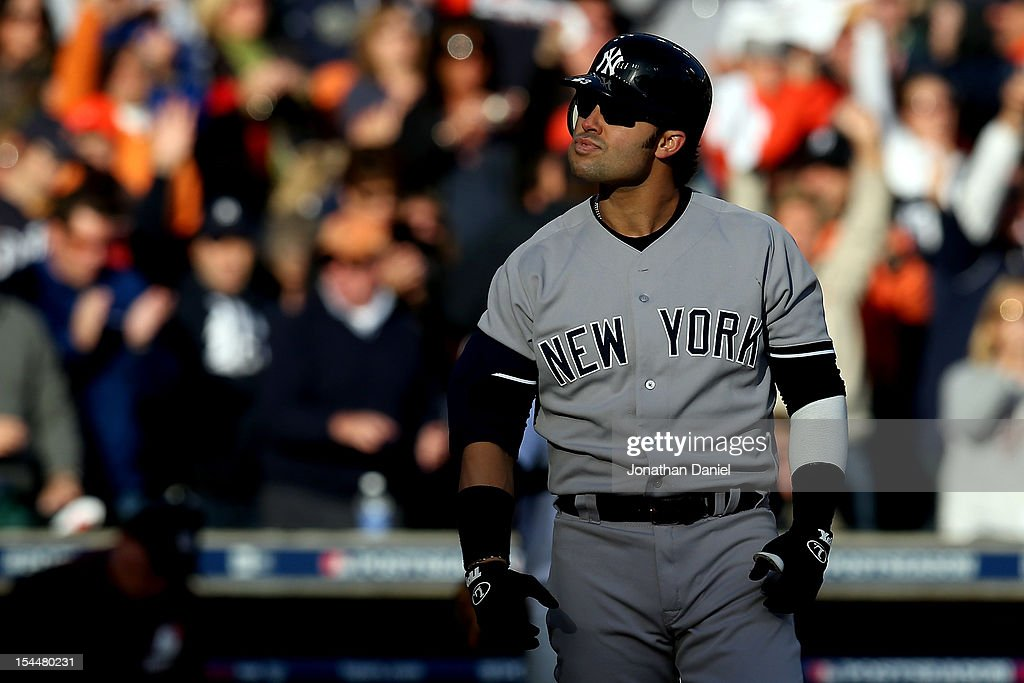 New York Yankees v Detroit Tigers - Game Four : News Photo