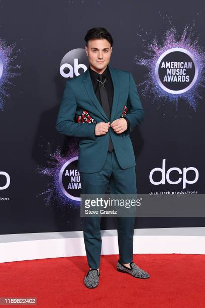 Nick Tangorra attends the 2019 American Music Awards at Microsoft Theater on November 24, 2019 in Los Angeles, California.