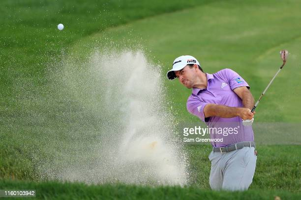 Nick Taylor of Canada on the 12th hole during the first round of the 3M Open at TPC Twin Cities on July 04 2019 in Blaine Minnesota
