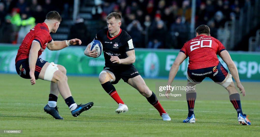 Saracens v Munster Rugby - Heineken Champions Cup Round 4 : News Photo