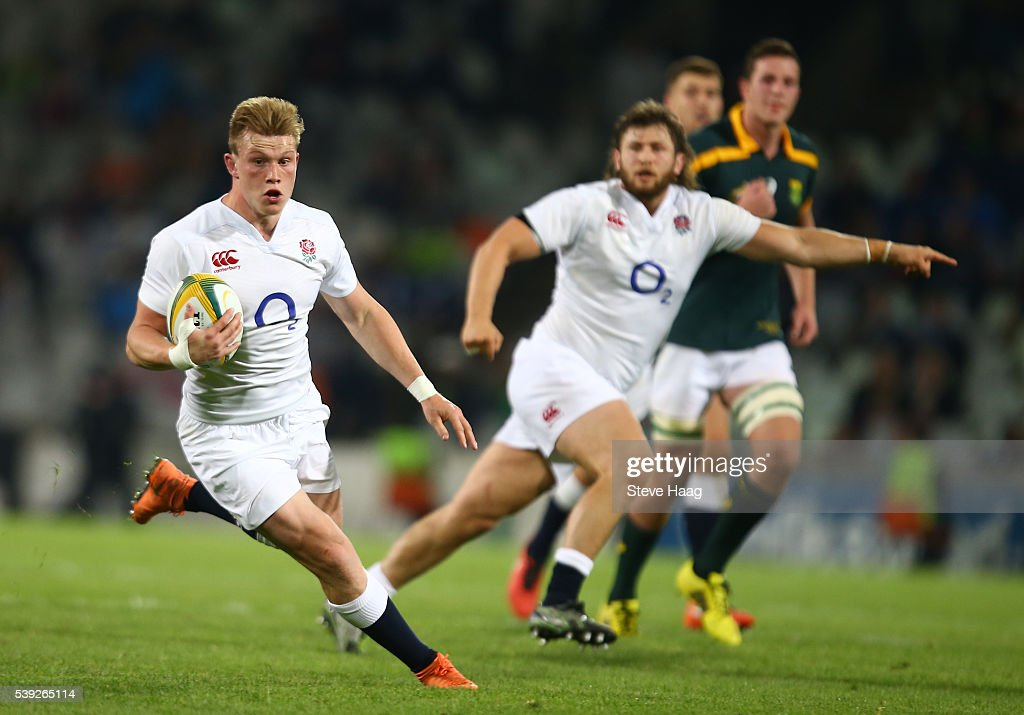 South Africa A v England Saxons : News Photo