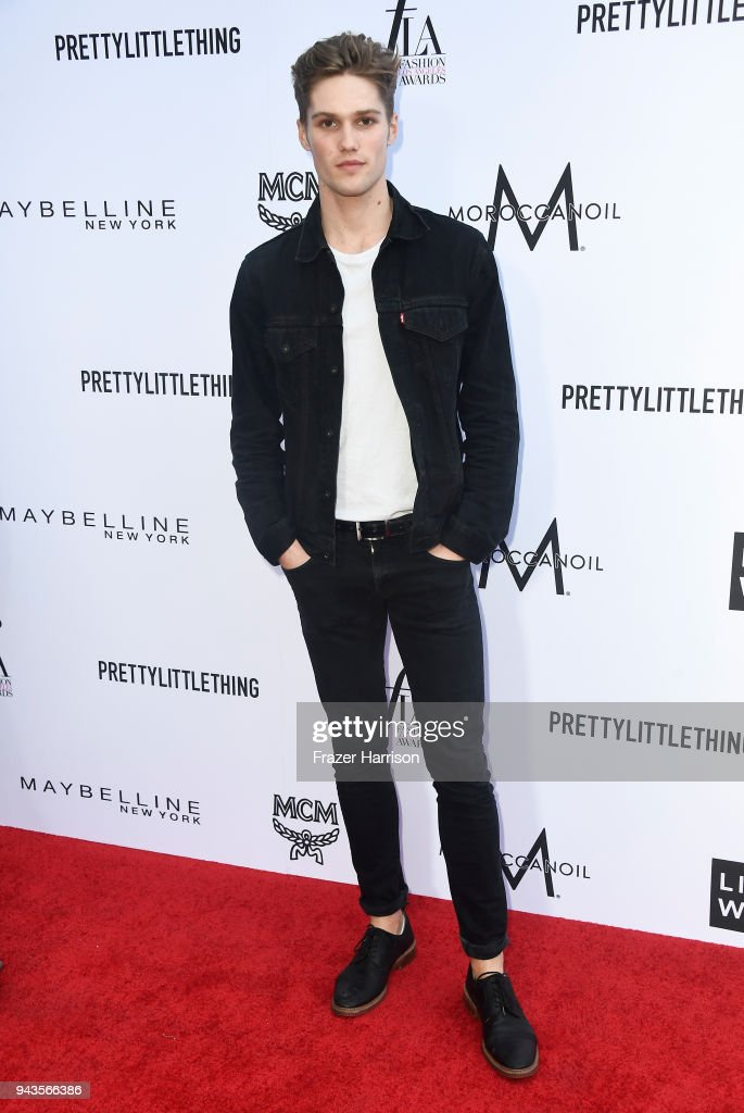 Nick Truelove attends The Daily Front Row's 4th Annual Fashion Los Angeles Awards at Beverly Hills Hotel on April 8, 2018 in Beverly Hills, California.