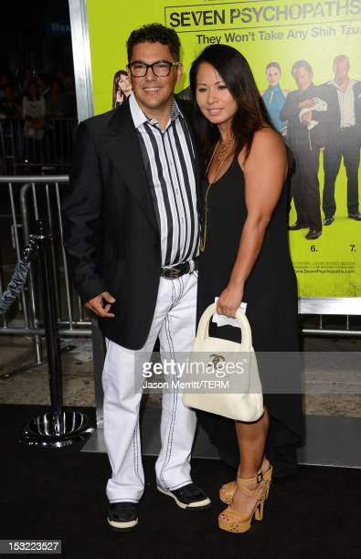 Nick Turturro and Lissa Espinosa arrive at the premiere of CBS Films' 'Seven Psychopaths' at Mann Bruin Theatre on October 1 2012 in Westwood...