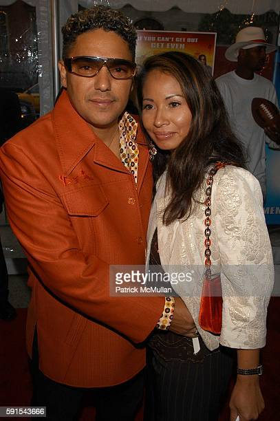 Nick Tuturro and Lissa Espinosa attend The Longest Yard screening Arrivals at Clearview's Chelsea West Cinemas NYC USA on May 24 2005