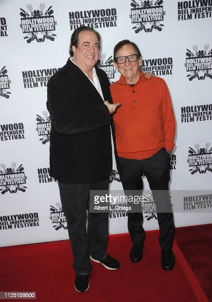 Nick Vallelonga and Monte Markham arrive for The 2019 Hollywood Reel Independent Film Festival held at Regal LA Live Stadium 14 on February 15 2019...