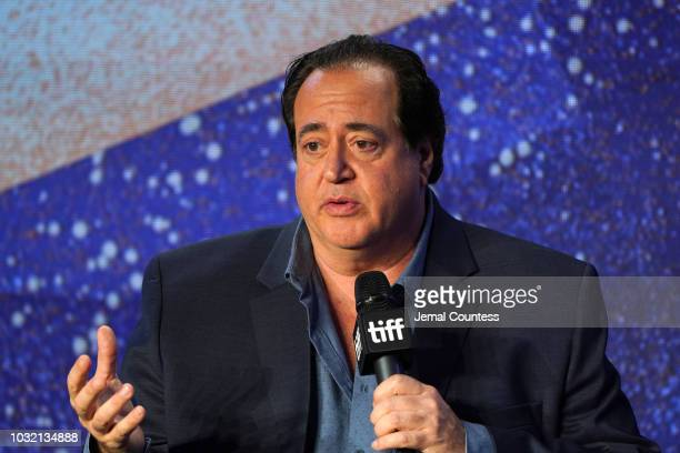 Nick Vallelonga attends the Green Book press conference during 2018 Toronto International Film Festival at TIFF Bell Lightbox on September 12 2018 in...
