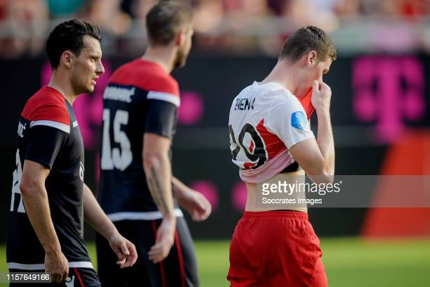 Nick Venema of FC Utrecht during the match between FC Utrecht v Zrinjski at the Stadium Galgenwaard on July 25 2019 in Utrecht Netherlands