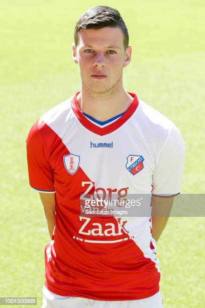 Nick Venema of FC Utrecht U23 during the Photocall FC Utrecht U23 at the Stadium Galgenwaard on July 23 2018 in Utrecht Netherlands