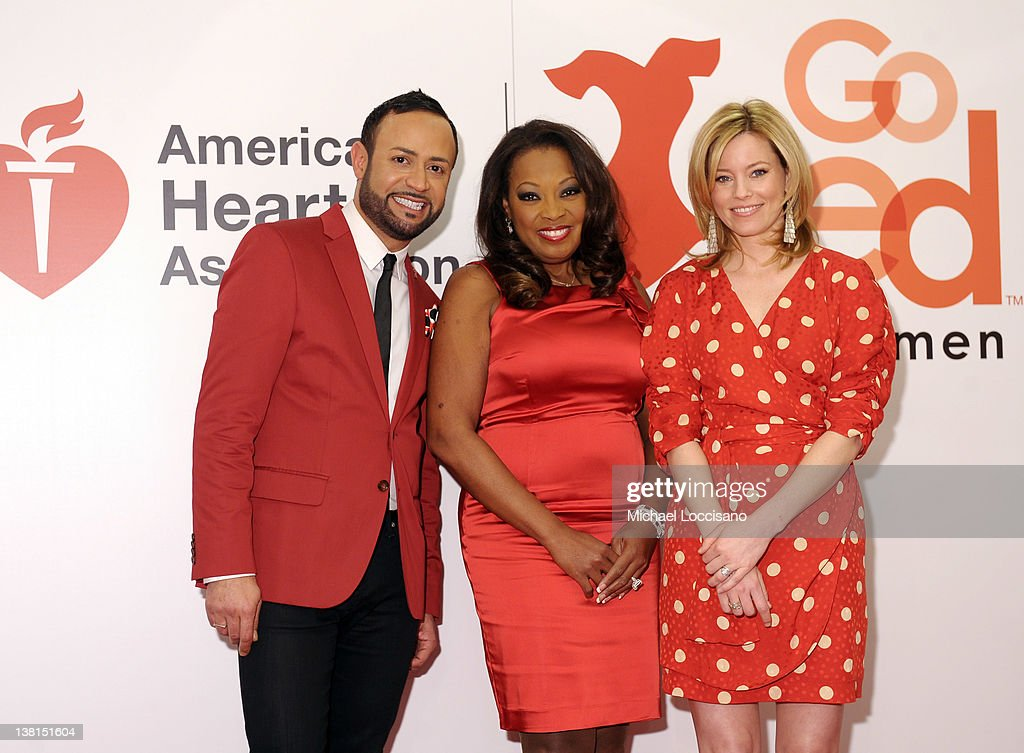 AHA's Go Red For Women National Wear Red Day At Macy's