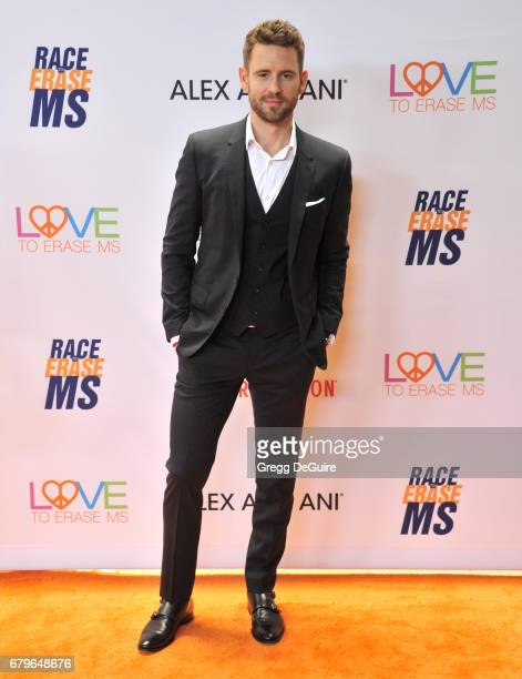 Nick Viall arrives at the 24th Annual Race To Erase MS Gala at The Beverly Hilton Hotel on May 5 2017 in Beverly Hills California