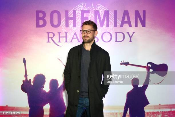 Nick Viall attends Bohemian Rhapsody's Get Loud Extravaganza at Whiskey a Go Go on February 12 2019 in Los Angeles California