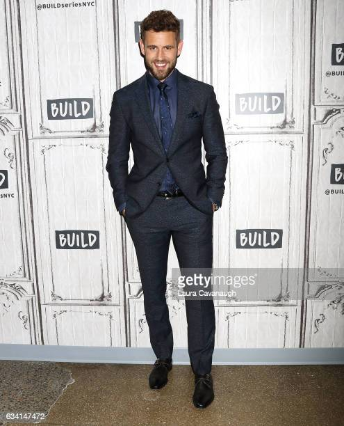 Nick Viall attends Build Series Presents to discuss 'The Bachelor' at Build Studio on February 7 2017 in New York City