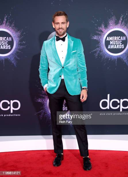 Nick Viall attends the 2019 American Music Awards at Microsoft Theater on November 24 2019 in Los Angeles California
