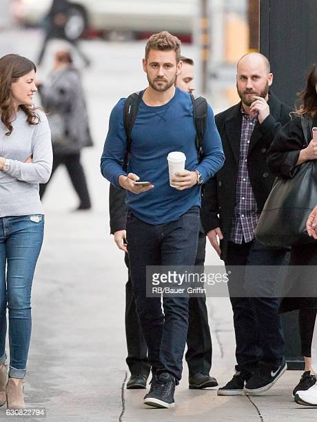 Nick Viall is seen at 'Jimmy Kimmel Live' on January 02 2017 in Los Angeles California