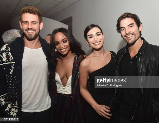 Nick Viall Rachel Lindsay Ashley Iaconetti and Jared Haibon attend WE tv celebrates the return of Love After Lockup with panel Real Love Relationship...