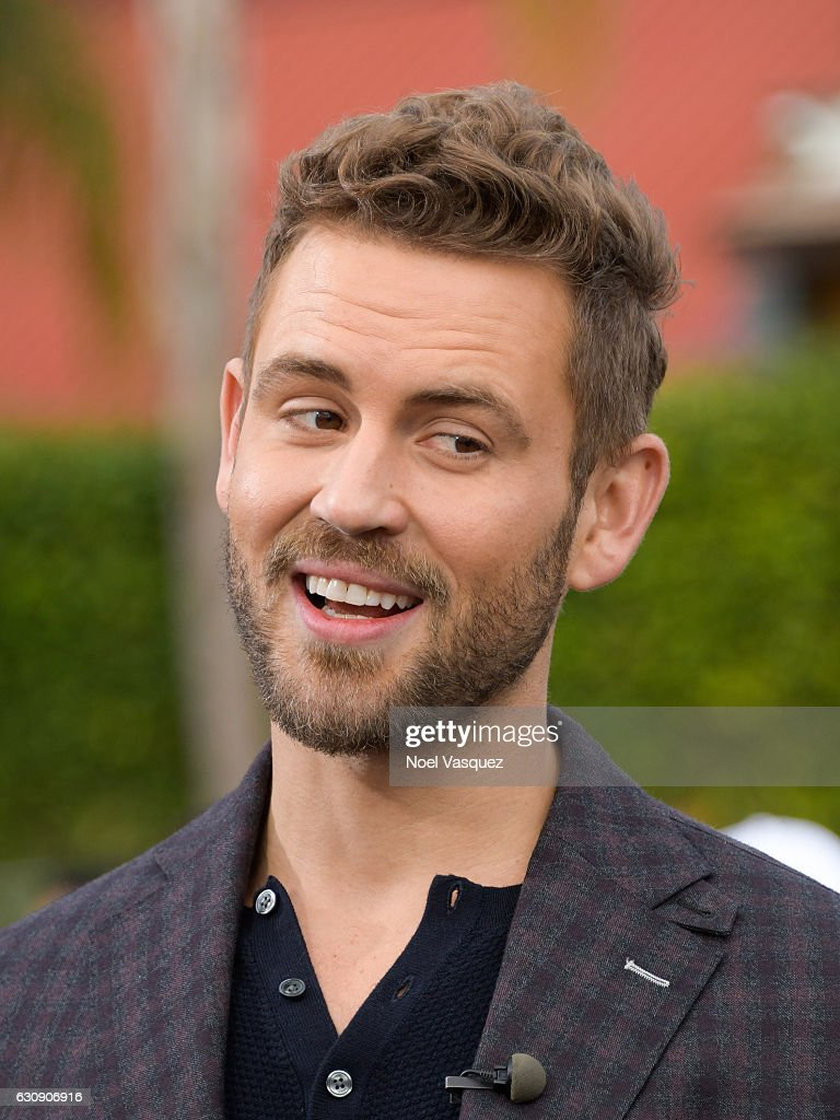 Nick Viall visits 'Extra' at Universal Studios Hollywood on January 3, 2017 in Universal City, California.