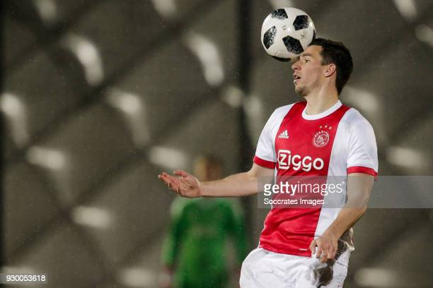Nick Viergever of Ajax U23 during the Dutch Jupiler League match between Ajax U23 v Go Ahead Eagles at the De Toekomst on March 9 2018 in Amsterdam...