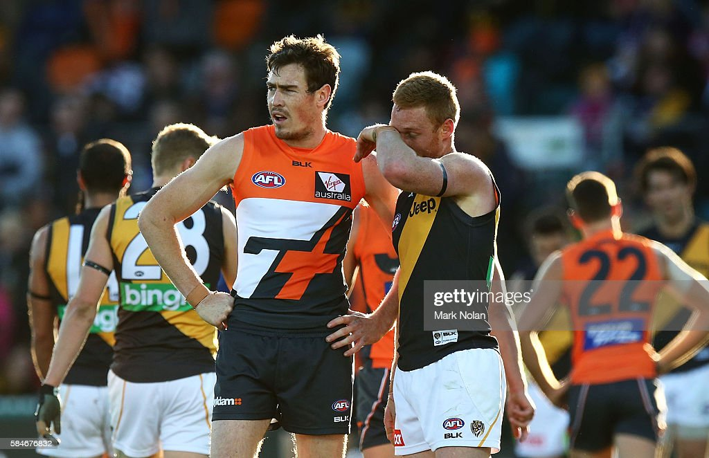 AFL Rd 19 - GWS v Richmond : News Photo
