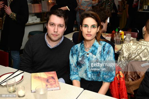 Nick Vogelson and Ana Kras attend the release of Petra Collins Coming of Age hosted by Gucci on November 28 2017 in New York City