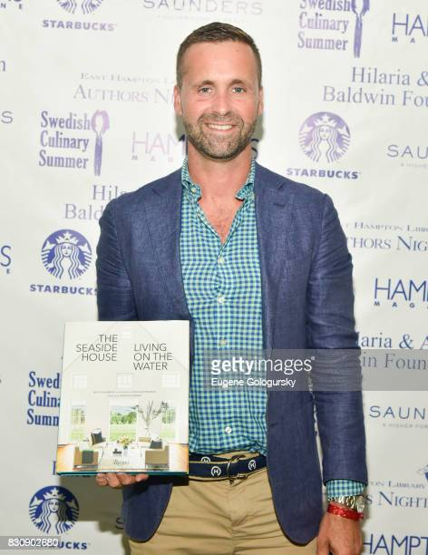 Nick Voulgaris attends Authors Night 2017 At The East Hampton Library at The East Hampton Library on August 12 2017 in East Hampton New York