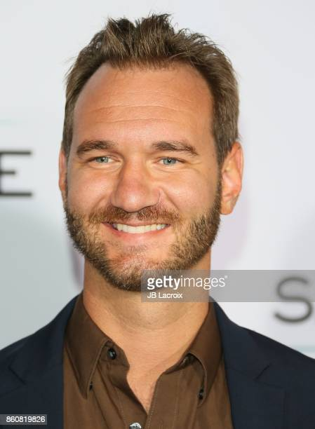 Nick Vujicic attends the premiere of Paramount Pictures and Pure Flix Entertainment's 'Same Kind Of Different As Me' on October 12 2017 in Los...