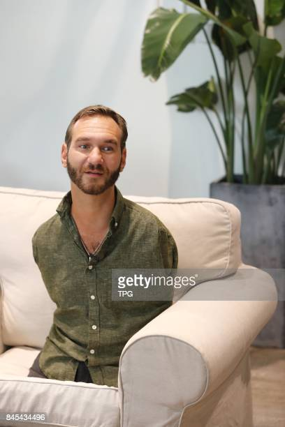 Nick Vujicic the legendary Australian speaker shares his story in Shanghai Sept9 2017 He hasgivenover 1500 speeches in 34 countries by now...