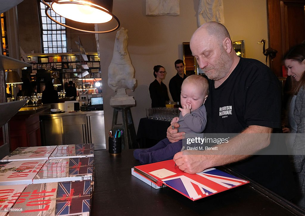 Nick Waplington Attends The Book Launch Of Blind For Love By Gucci