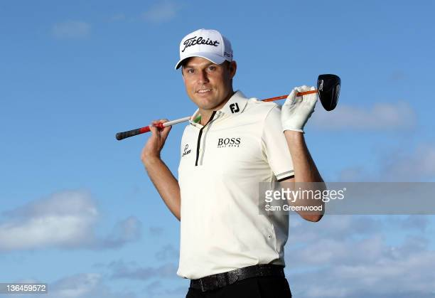 Nick Watney poses for a portrait during the proam round of the Hyundai Tournament of Champions at the Plantation course on January 5 2012 in Kapalua...