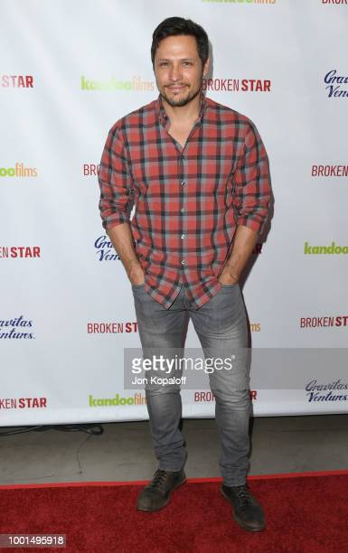 Nick Wechsler attends premiere of Gravitas Ventures' 'Broken Star' at TCL Chinese 6 Theatres on July 18 2018 in Hollywood California