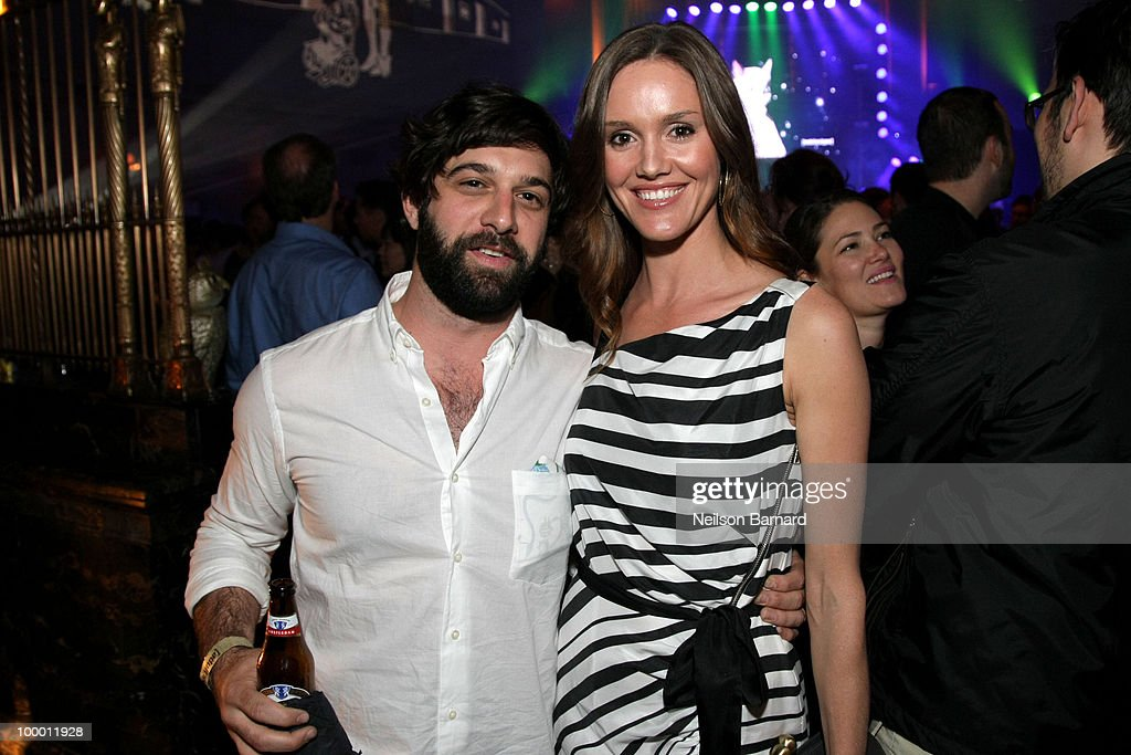 Nick Weidenfeld (L) attends the Adult Swim Upfront 2010 at Gotham Hall on May 19, 2010 in New York City. 19913_002_0111.JPG