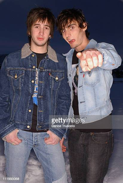 Nick Wheeler and Tyson Ritter of The AllAmerican Rejects