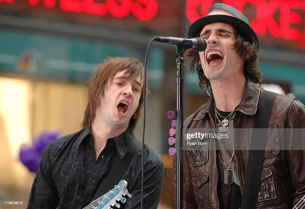 "The All-American Rejects Perform on NBC's ""The Today Show"" Summer Concert"