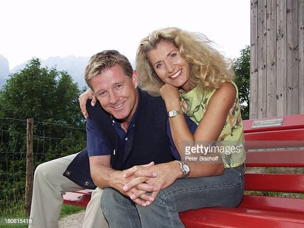 Nick Wilder, Ehefrau Christine Mayn, Urlaub Österreich, Frau,