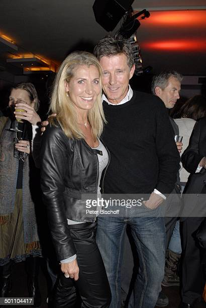 """Nick Wilder mit Ehefrau Christine Mayn, Party """"ndF: after work 2008 - Pressecocktail"""", München, Bayern, Deutschland, Europa, """"neue deutsche..."""